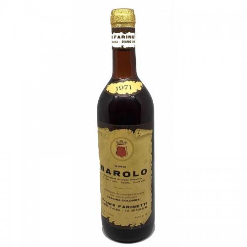 BAROLO 1971 FARINETTI Grandi Bottiglie