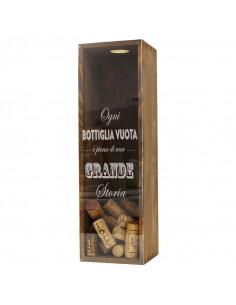 Personalised Wine Corks Display | oohwine.com