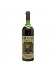 MERLOT 1982 CANTINA DEL FRIULI BERTIOLO Grandi Bottiglie