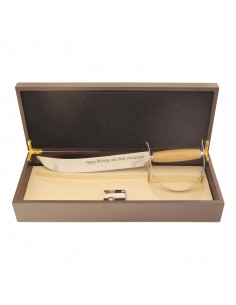 Sciabola da champagne personalizzata - Edward WINE ATTACH Grandi Bottiglie