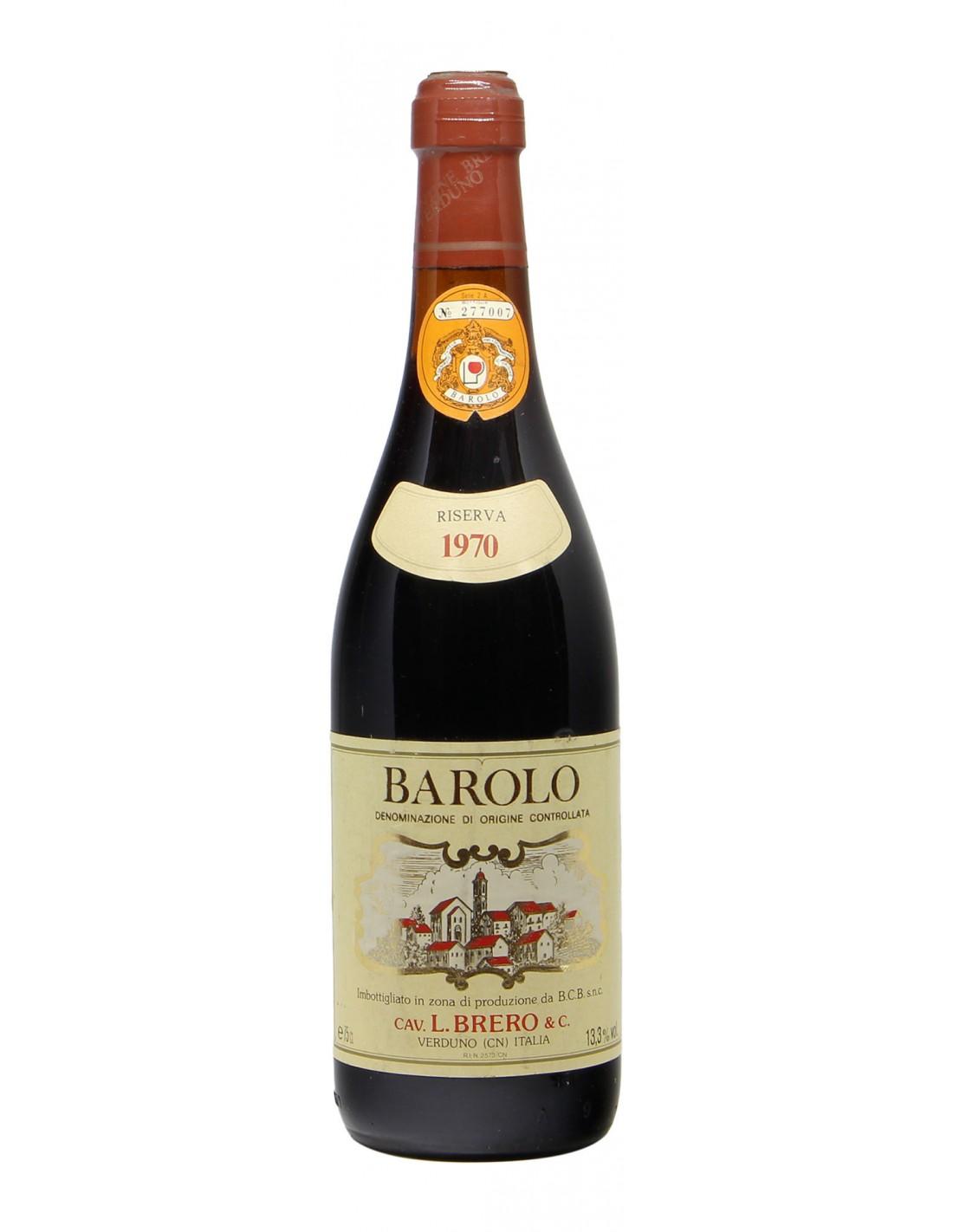 Barolo 1970 BRERO GRANDI BOTTIGLIE