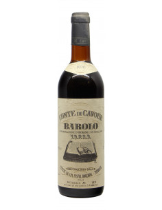 BAROLO 1976 CANTINA CONTE DI CAVOUR Grandi Bottiglie