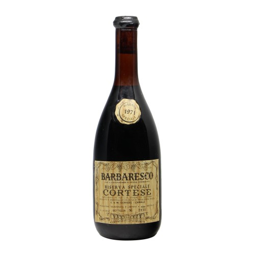 BARBARESCO RISERVA SPECIALE 1971 CORTESE Grandi Bottiglie