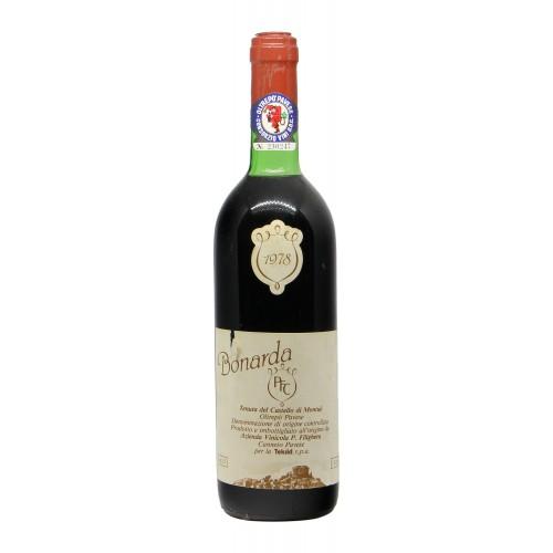 BONARDA 1978 FILIGHERA Grandi Bottiglie