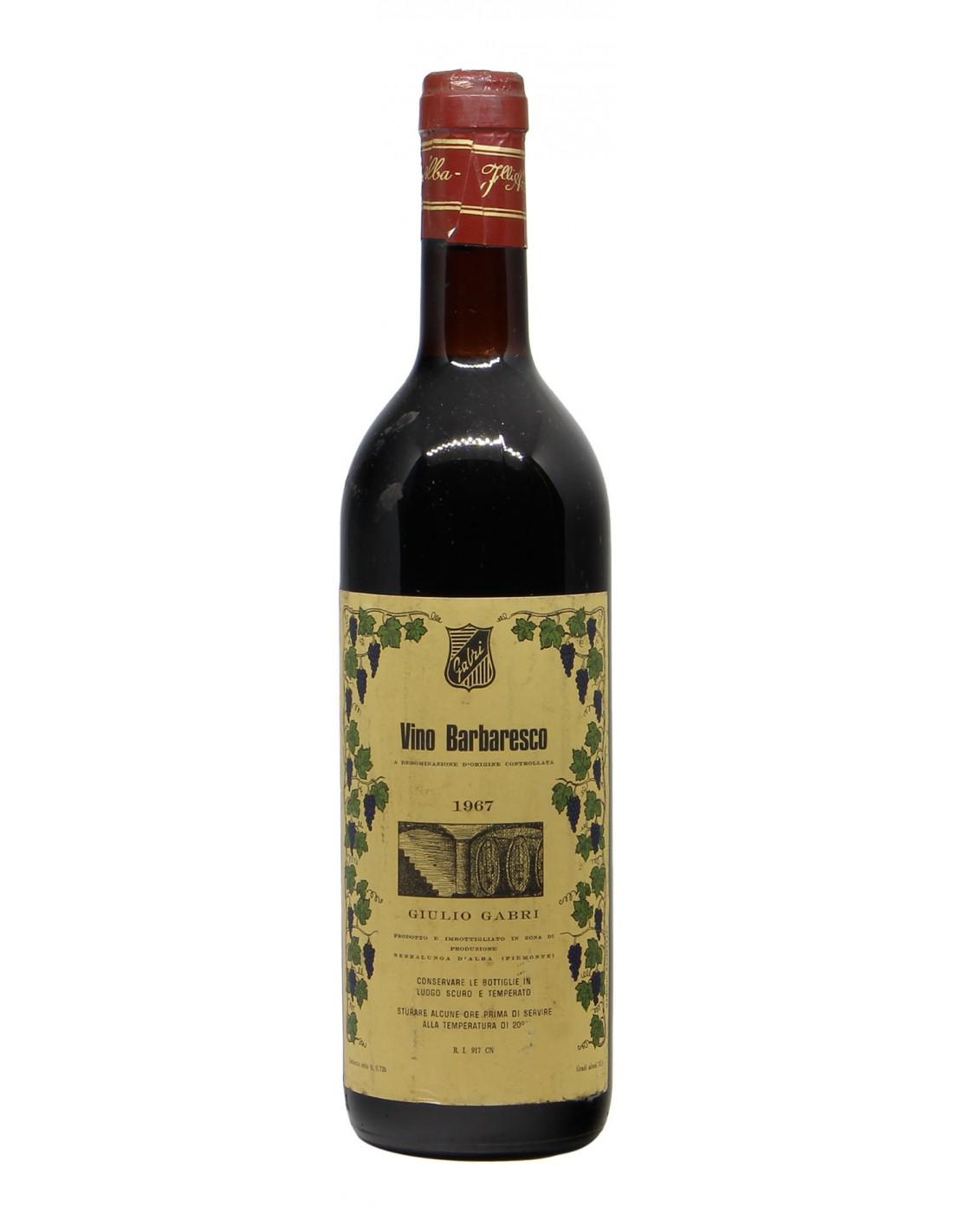 BARBARESCO 1967 GABRI Grandi Bottiglie