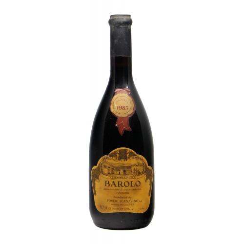BAROLO 1983 SCANAVINO Grandi Bottiglie