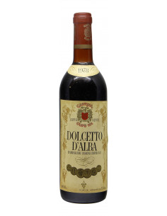 DOLCETTO D'ALBA 1978 CANTINA CLUB 101 Grandi Bottiglie