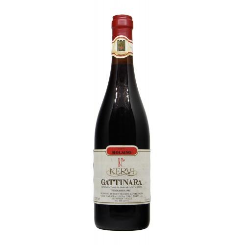 Gattinara 1962 NERVI LUIGI GRANDI BOTTIGLIE