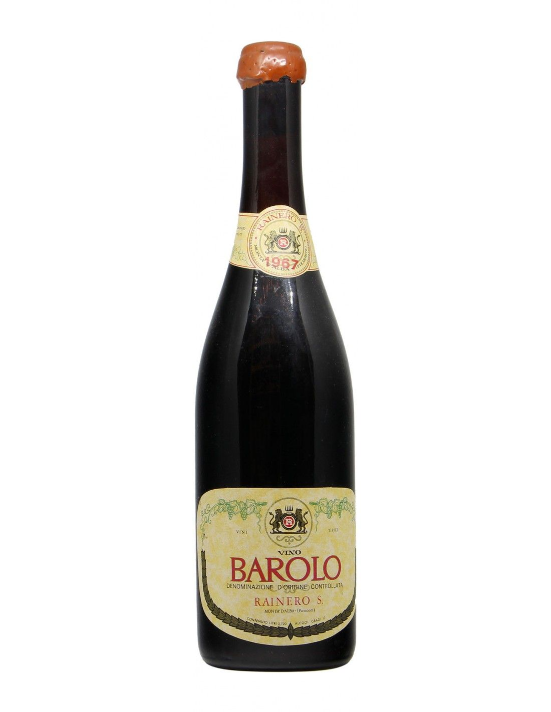 BAROLO 1967 RAINERO Grandi Bottiglie