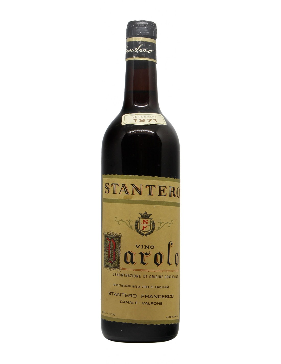 Barolo 1971 STANTERO GRANDI BOTTIGLIE