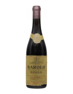 BAROLO 1968 KIOLA Grandi Bottiglie