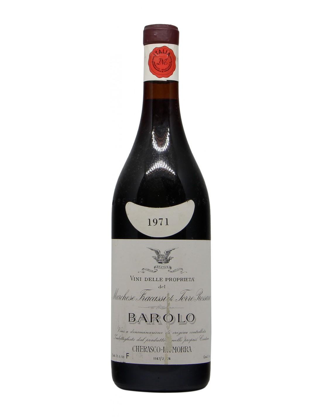 BAROLO 1971 FRACASSI Grandi Bottiglie