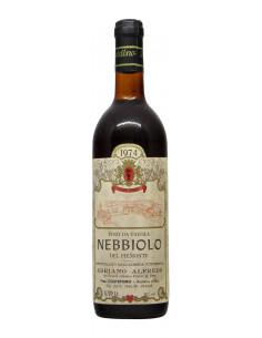 NEBBIOLO 1974 ADRIANO ALFREDO Grandi Bottiglie