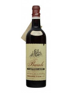 BAROLO CLEAR COLOUR 1958 CAPPELLANO Grandi Bottiglie