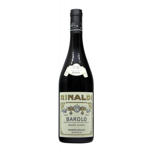 Giuseppe Rinaldi Barolo Brunate 2007 Grandi Bottiglie