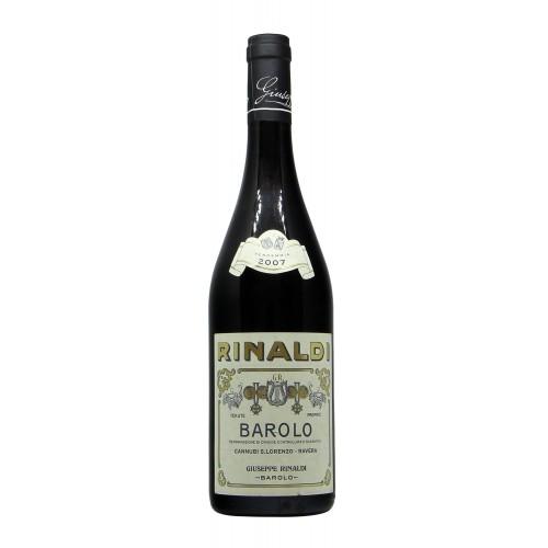 Giuseppe Rinaldi Barolo Cannubi San Lorenzo Ravera 2007 Grandi Bottiglie
