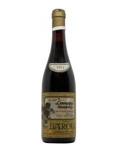 Barolo 1971 PAROLA GRANDI BOTTIGLIE