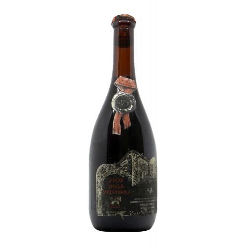 BAROLO 1975 PICO DELLA MIRANDOLA Grandi Bottiglie