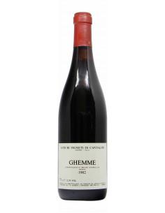 GHEMME 1982 ANTICHI VIGNETI DI CANTALUPO Grandi Bottiglie