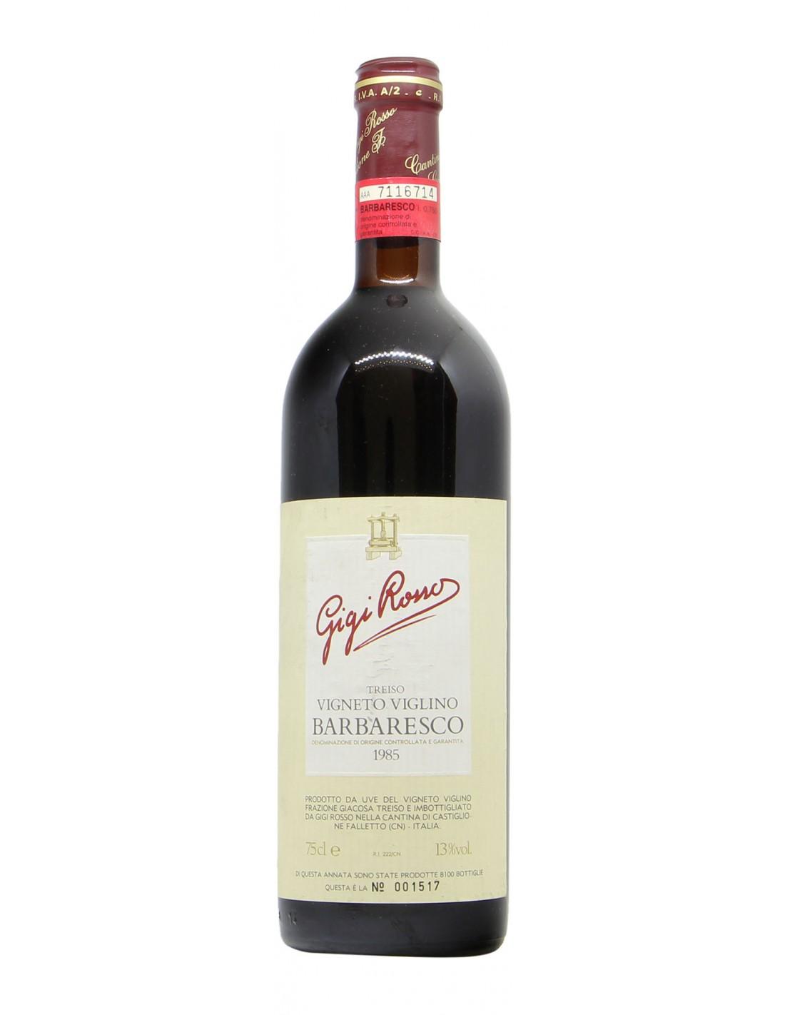 BARBARESCO VIGNETO VIGLINO 1985 CANTINA GIGI ROSSO Grandi Bottiglie