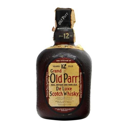 OLD PARR SCOTCH WHISKY DE LUXE 12YO 75CL NV OLD PARR Grandi Bottiglie