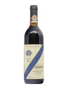 CHIANTI CLASSICO RISERVA 1981 LILLIANO GRANDI BOTTIGLIE