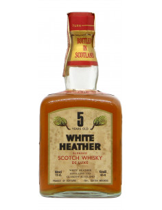 WHITE HEATHER 5 YEARS OLD BLENDED SCOTCH WHISKY 75CL NV WHITE HEATHER Grandi Bottiglie