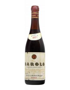 BAROLO COLLINA CANNUBIO 1971 BATTISTA BORGOGNO Grandi Bottiglie