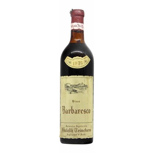 BARBARESCO 1975 FRATELLI TRINCHERO Grandi Bottiglie