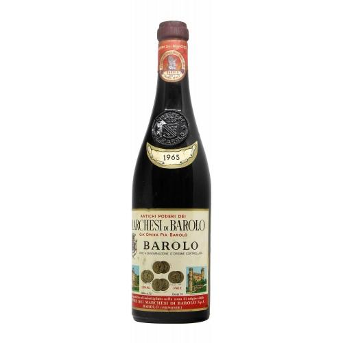 BAROLO 1965 MARCHESI DI BAROLO Grandi Bottiglie