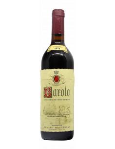 BAROLO 1971 RABEZZANA RENATO Grandi Bottiglie