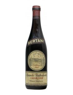 AMARONE CLASSICO SUPERIORE 1961 BERTANI Grandi Bottiglie