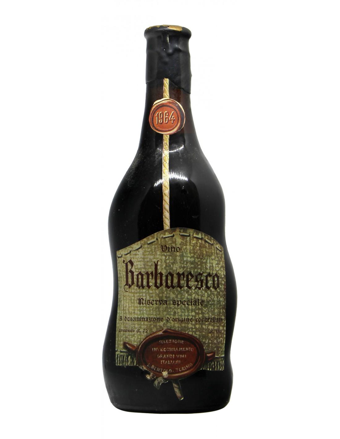 Barbaresco Riserva Speciale 1964 BERTOLO GRANDI BOTTIGLIE