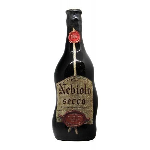 NEBBIOLO ALBA 1967 BERTOLO Grandi Bottiglie
