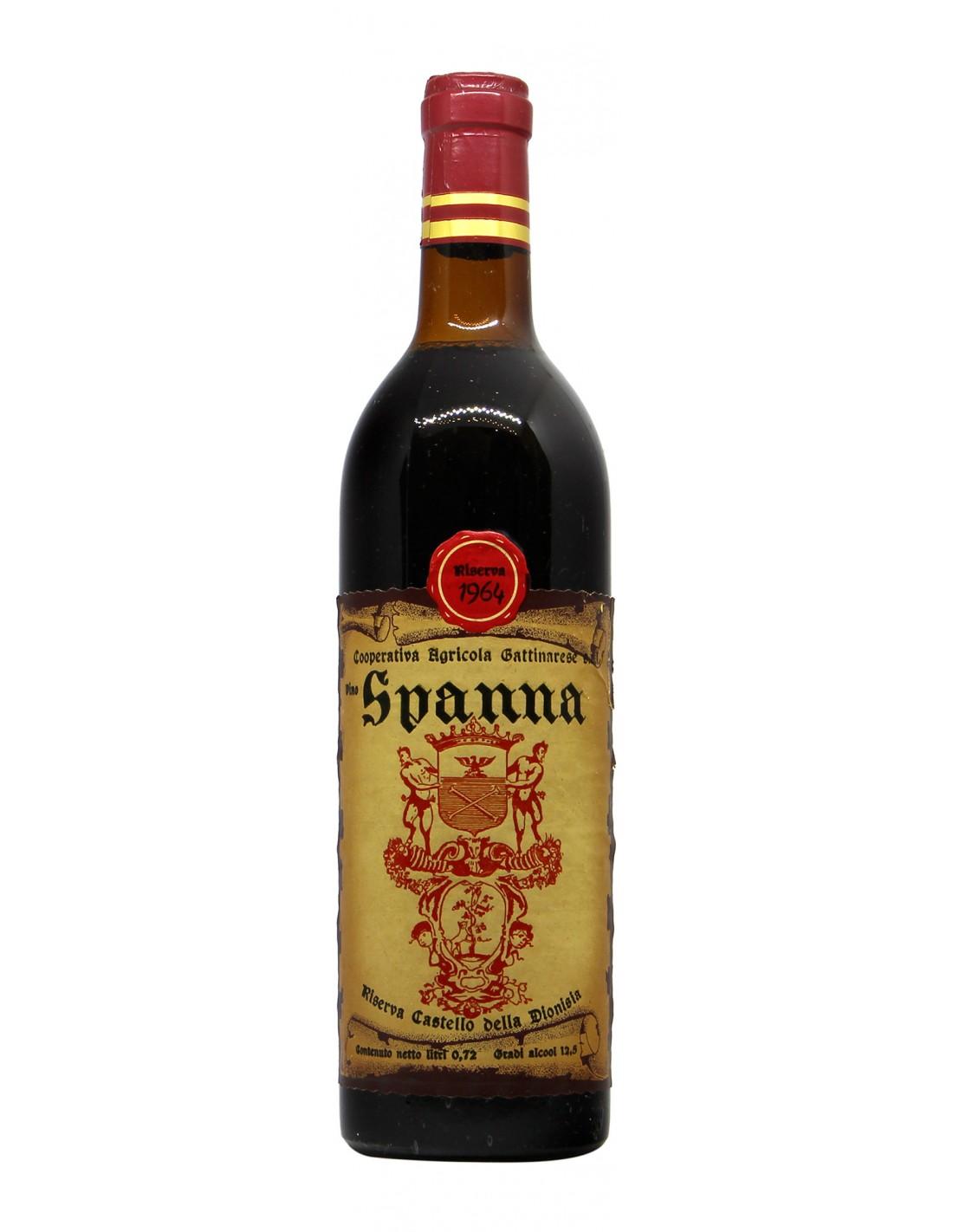 SPANNA RISERVA DELLA DIONISIA 1964 LA GATTINARESE Grandi Bottiglie