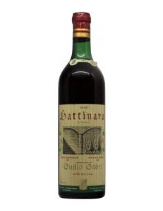 GATTINARA 1957 GABRI Grandi Bottiglie