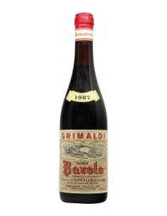 BAROLO 1967 GRIMALDI GIUSEPPE Grandi Bottiglie