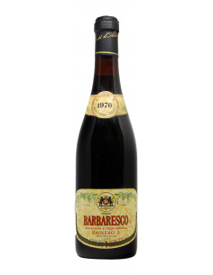 BARBARESCO 1970 RAINERO Grandi Bottiglie