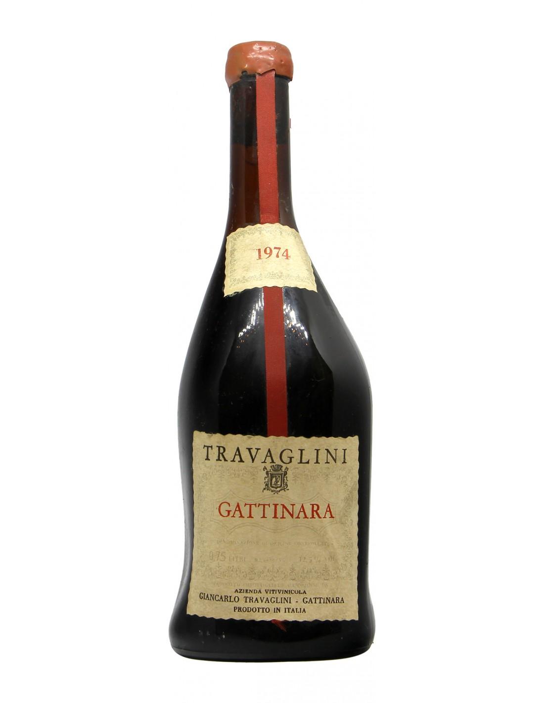 GATTINARA 1974 TRAVAGLINI Grandi Bottiglie