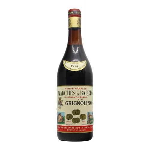 GRIGNOLINO 1974 MARCHESI DI BAROLO Grandi Bottiglie