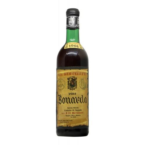 BONARDA CASTELLO DI LOZZOLO 1964 FRATELLI BERTELETTI Grandi Bottiglie