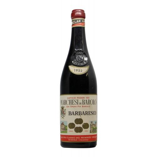 BARBARESCO 1952 MARCHESI DI BAROLO Grandi Bottiglie