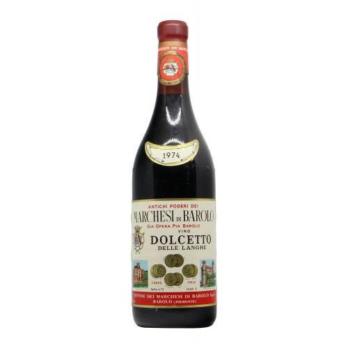 DOLCETTO DELLE LANGHE 1974 MARCHESI DI BAROLO Grandi Bottiglie