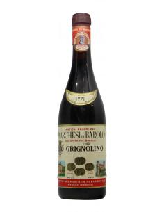 GRIGNOLINO 1971 MARCHESI DI BAROLO Grandi Bottiglie
