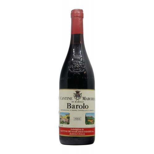 BAROLO 1984 MARCHESI DI BAROLO Grandi Bottiglie