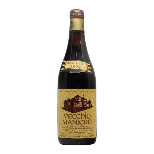 VECCHIO MANIERO 1974 MARCHESI DI BAROLO Grandi Bottiglie