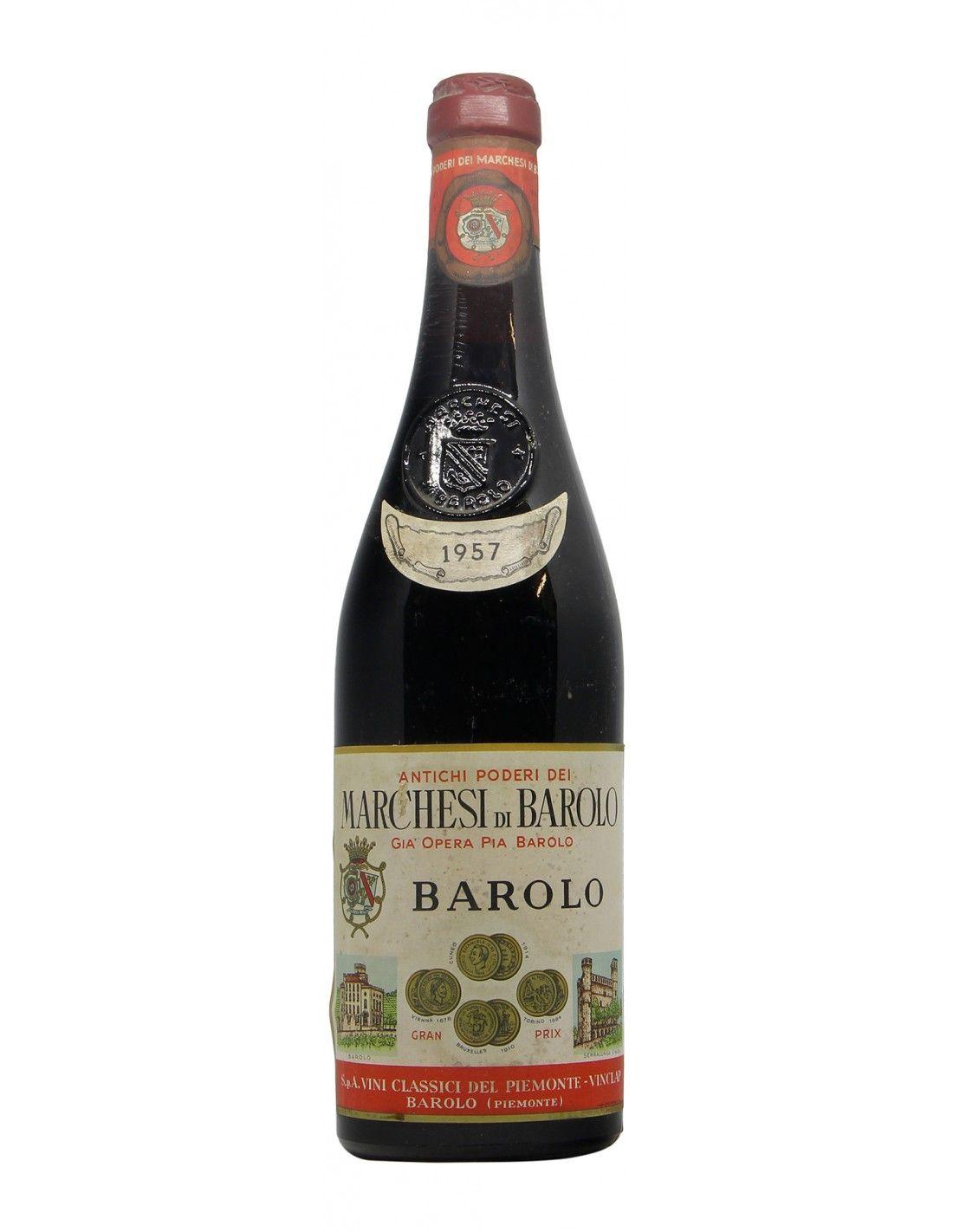 Barolo 1957 MARCHESI DI BAROLO GRANDI BOTTIGLIE