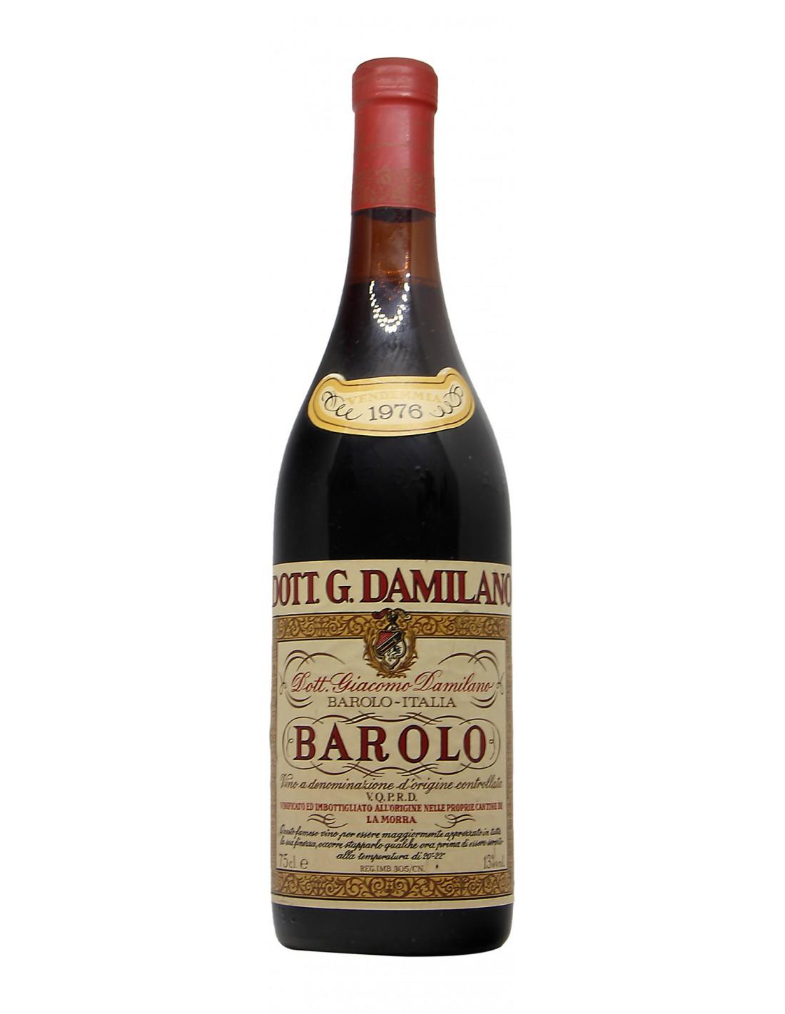 BAROLO 1976 DAMILANO Grandi Bottiglie