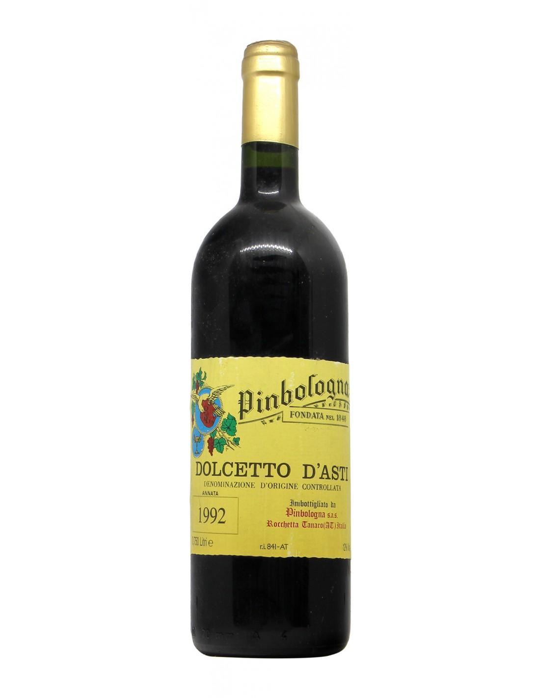 DOLCETTO ASTI 1992 PINBOLOGNA Grandi Bottiglie