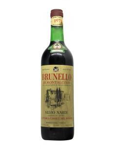 BRUNELLO DI MONTALCINO 1971 NARDI SILVIO Grandi Bottiglie
